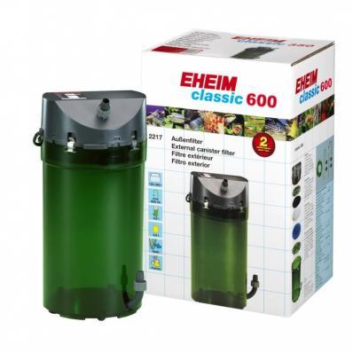 Внешний фильтр EHEIM Classic 600 (2217) с наполнителями