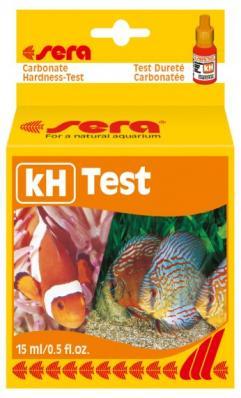 Тест для воды Sera kH Карбонатная жесткость