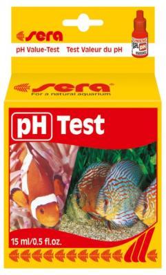 Тест для воды Sera pH Кислотность