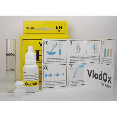 Тест для воды VladOx kH - карбонатная жесткость