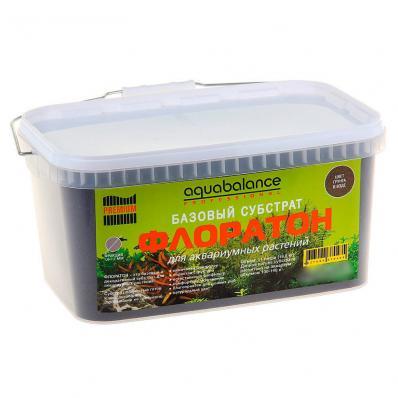 "Aquabalance Professional Premium Базовый субстрат ""ФЛОРАТОН"" 3,3 л (5,9 кг)"